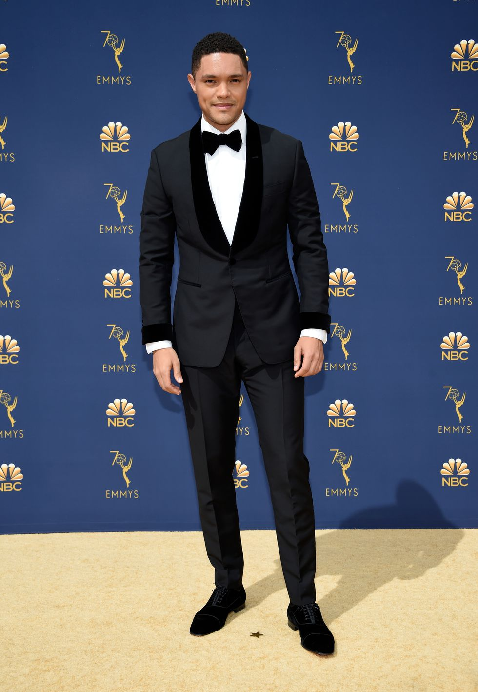 Trevor Noah in Christian Louboutin Shoes