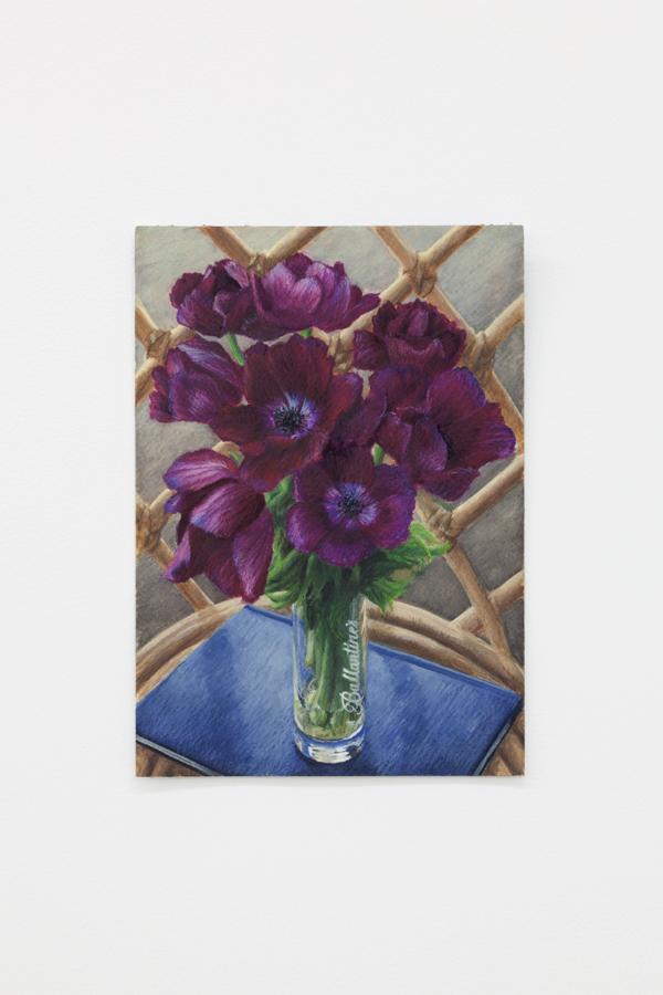 Louise Sartor  Ballantine's , 2018, gouache and watercolor pencil on paper, 9 3/8 x 6 5/8 in (24 x 17 cm)