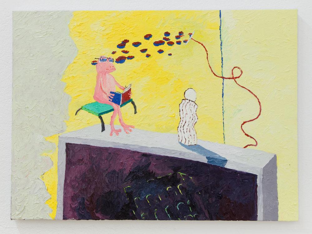 Jesse Sullivan,  Pepsi,  2018, Oil on Canvas, 22 x 30 inches