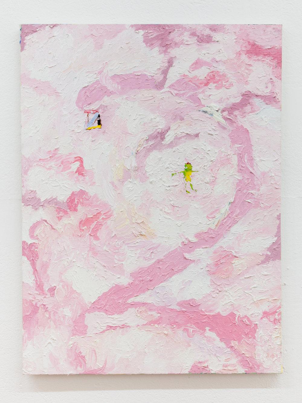 Jesse Sullivan,  2 , 2018, Oil on Canvas, 40 x 30 inches
