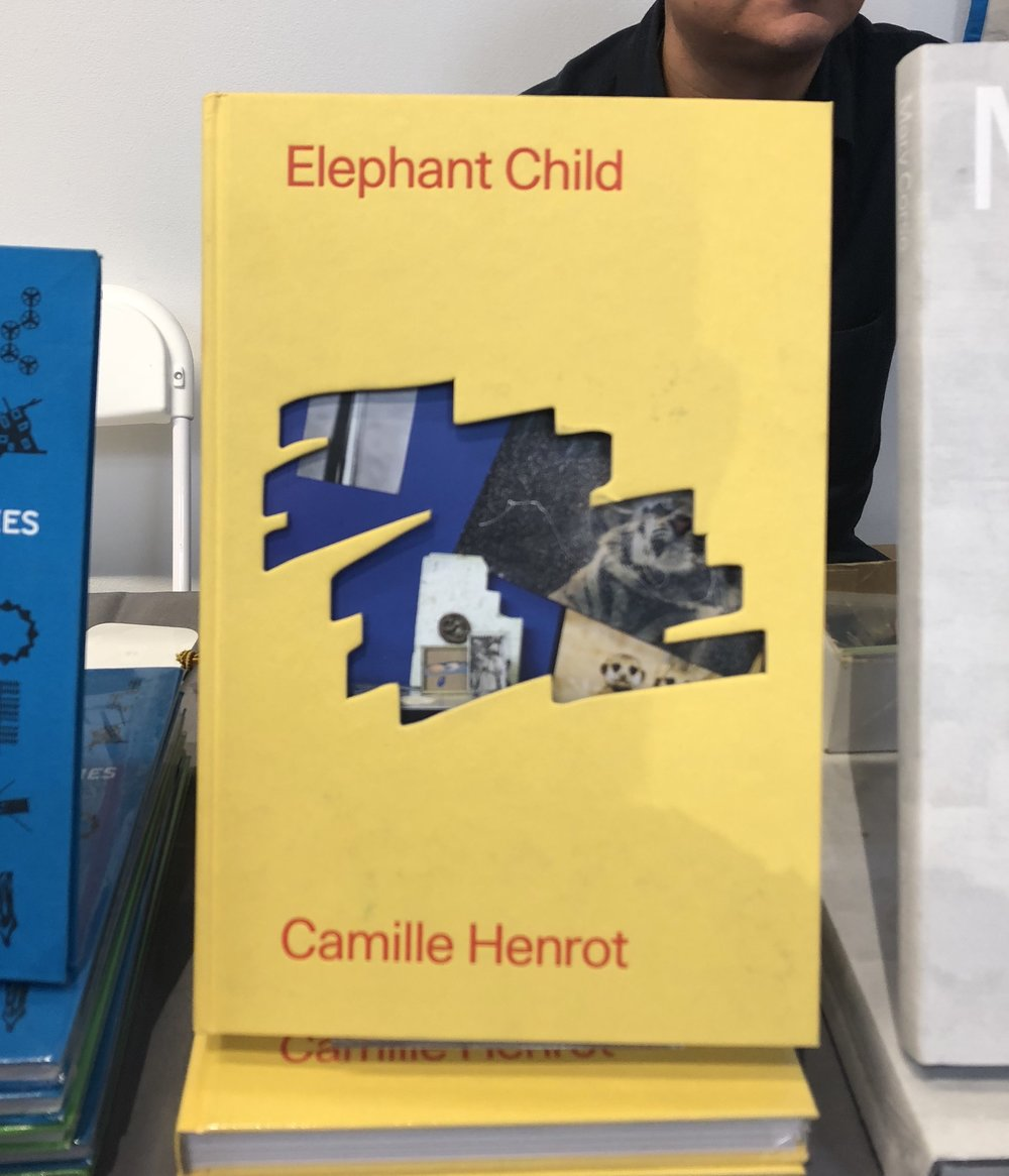 I have a list of things I want should fortune smile upon my own booth and this Camille Henrot is at the top and it's on sale so yeah I'll probably cave. At the Inventory Press table, another goodie-packed table.