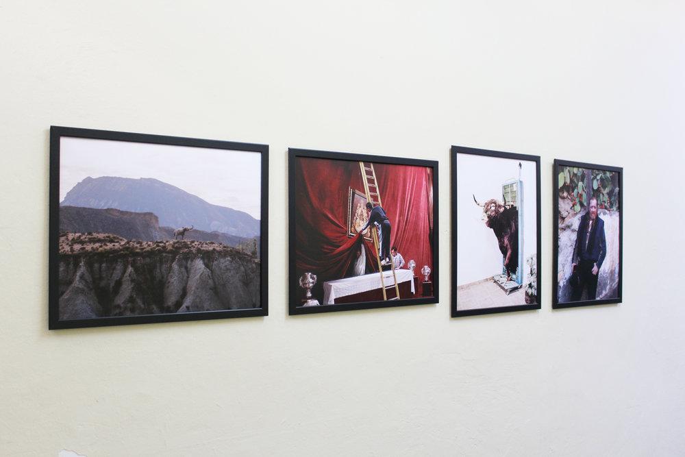 Alvaro Deprit,  SW, 2011-2017,  Photographic prints, 40 x 50 cm each