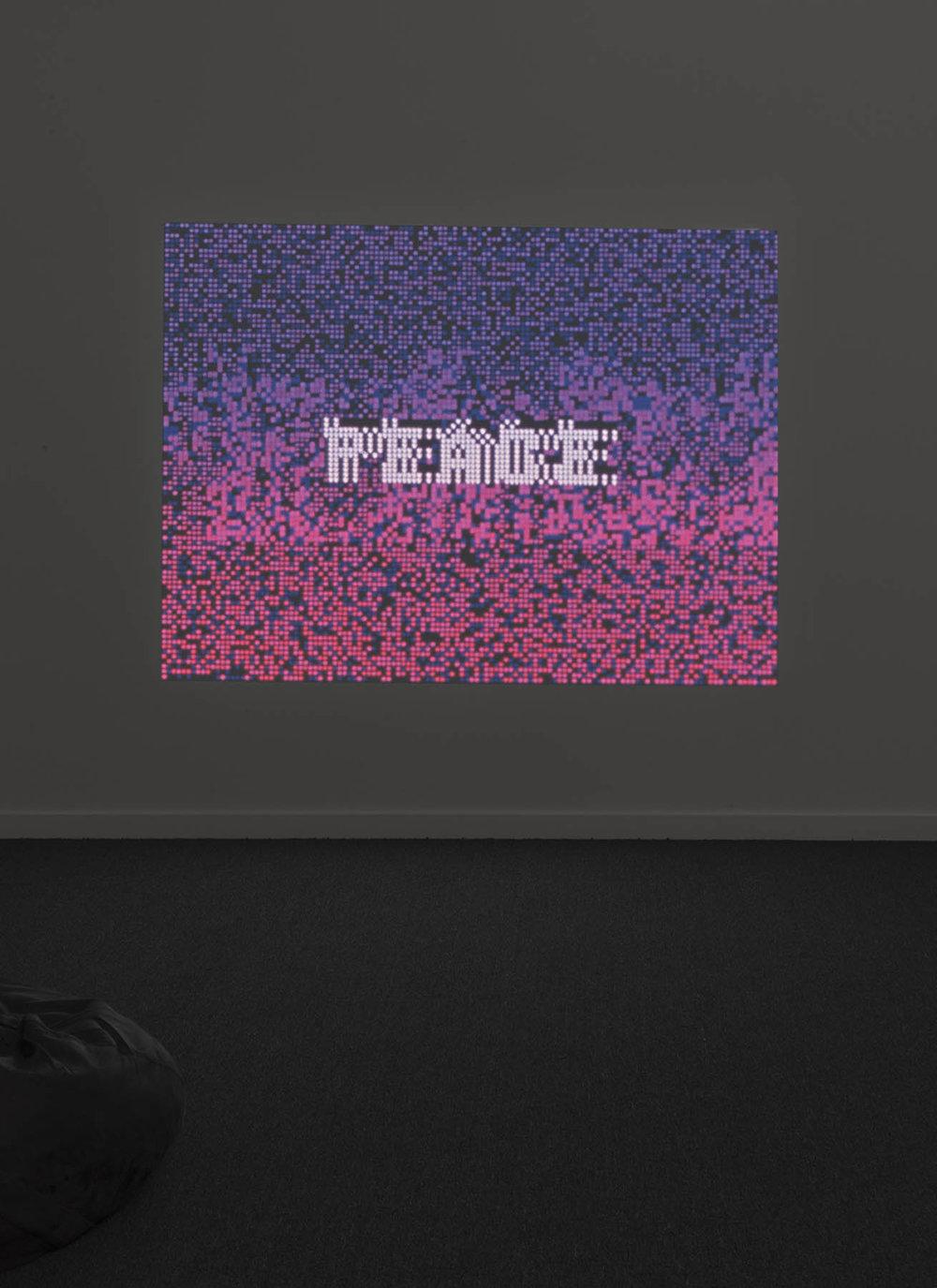 Poemfield No. 7 installation view