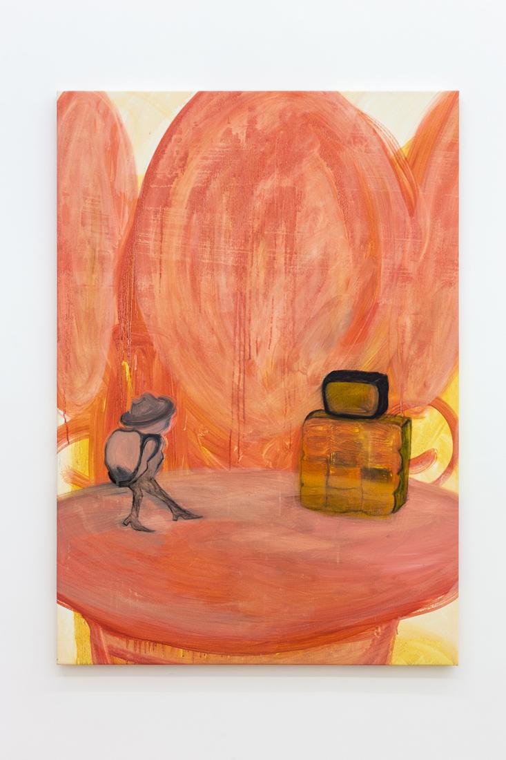 Kamilla Bischof,  Psyche , 2016, oil on canvas, 70 x 100 cm
