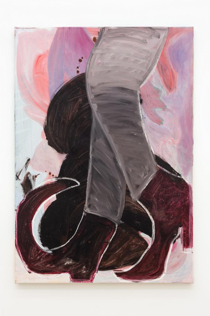 Kamilla Bischof,  Silberfuchs , 2017, oil on canvas, 70 x 100 cm