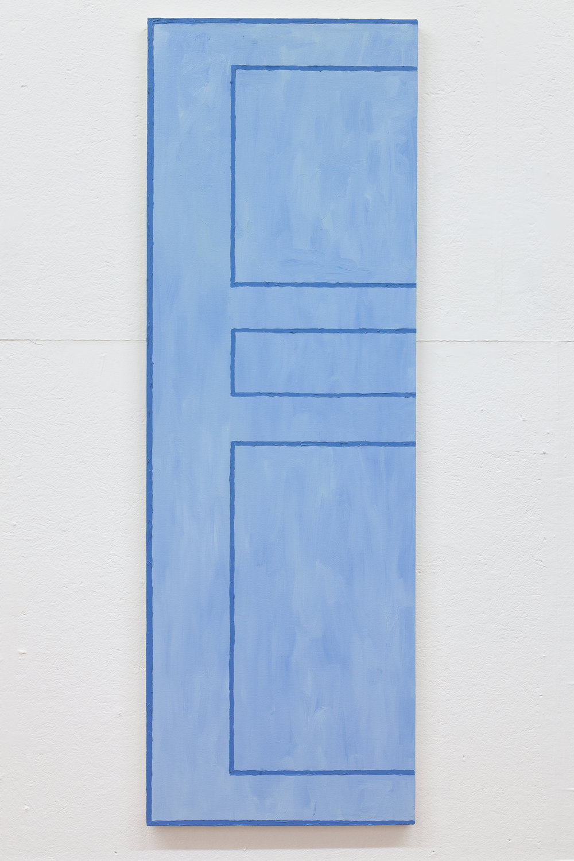 Richard Bosman,  Vincent van Gogh Door , 2016, Oil on canvas, 72 x 24 inches