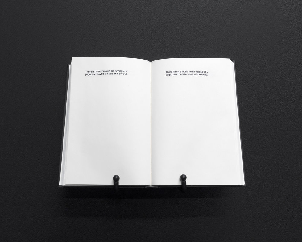 Micca Schippa,  The Acoustic Universe , 300 page perfect bound hardcover book, edition of 100. 2018