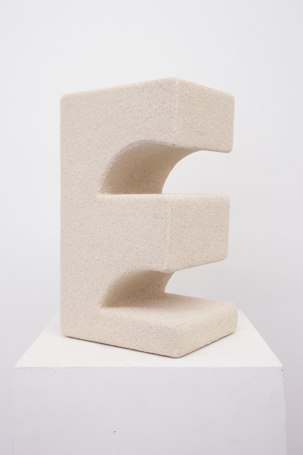 Elizabeth Atterbury.  The Well (Piece from the first) , 2018, Beach sand, MDF and glue. 11 x 6.50 x 5.12 in