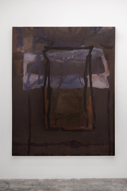 "Liza Lacroix,  Untitled.  2018, 60.5"" x 48.5"", Oil on canvas"