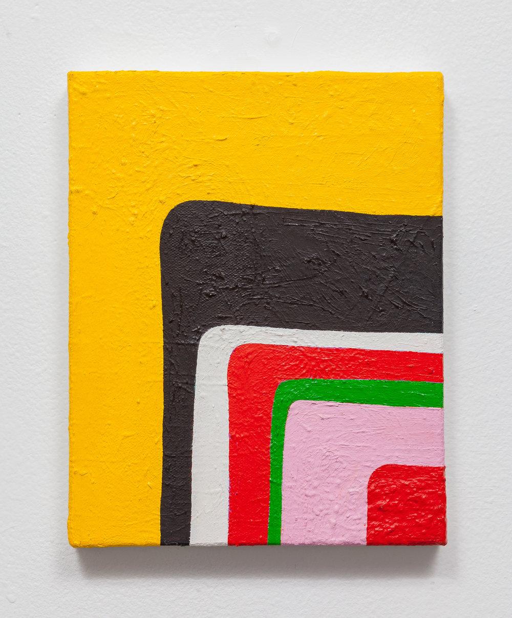 """Andrew Masullo,  5146 , 2009-2012, Oil on canvas, 8"""" x 10"""""""