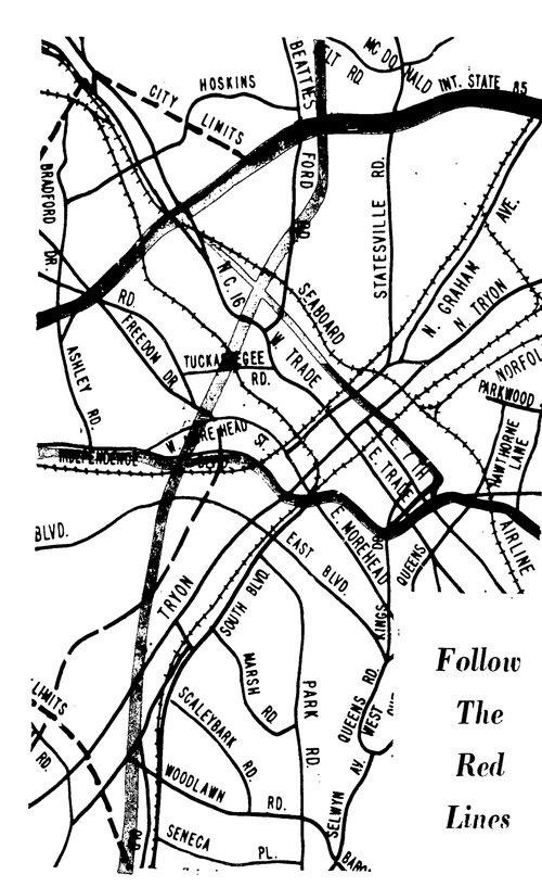 Jcsu Campus Map.Charlotte S Historic West End