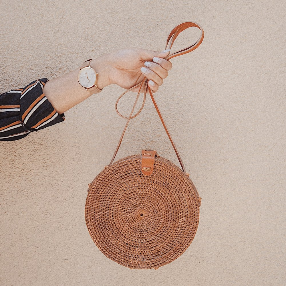 RAFFIA BAGS - Are the summer go to bag!