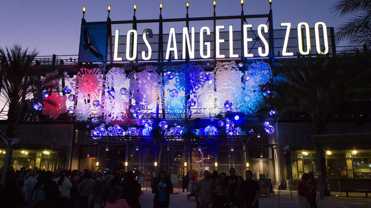 Los Angeles Zoo - LA Zoo Lights