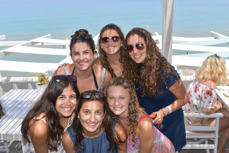 Campers of the 2018 Ionian Village program