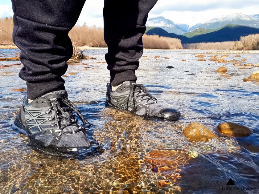 We water tested every pair of shoes in real world conditions.   Photo: Ebony Roberts
