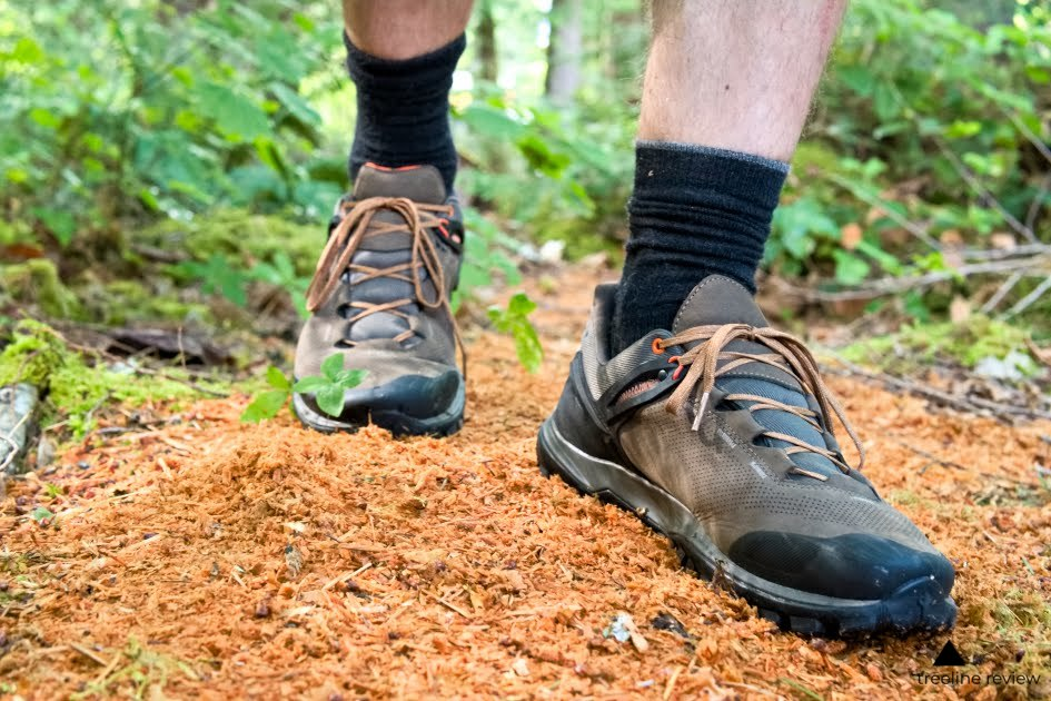 - read the full review of hiking shoes here