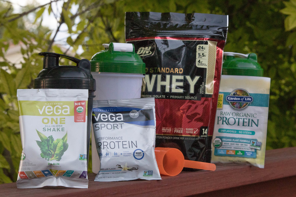 See the comparison chart - Side-by-side comparisons of the protein powders we reviewed