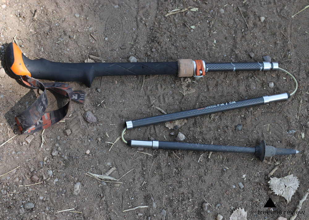 The Best Hiking Poles for Travel - Leki Micro Vario CarbonRead why→