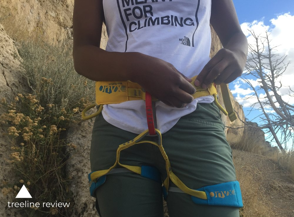 The Best Climbing Harness - Singing Rock OnyxRead why→