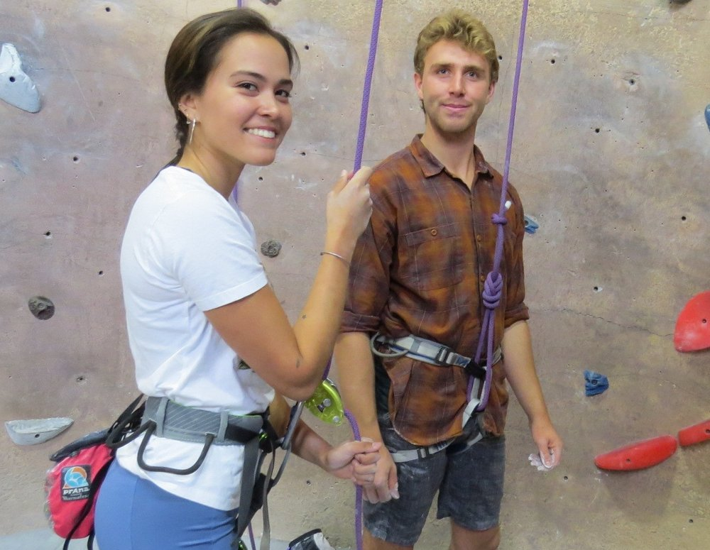 Climbing can be a fun and rewarding way to exercise and spend time with friends.   Photo by Liz Thomas