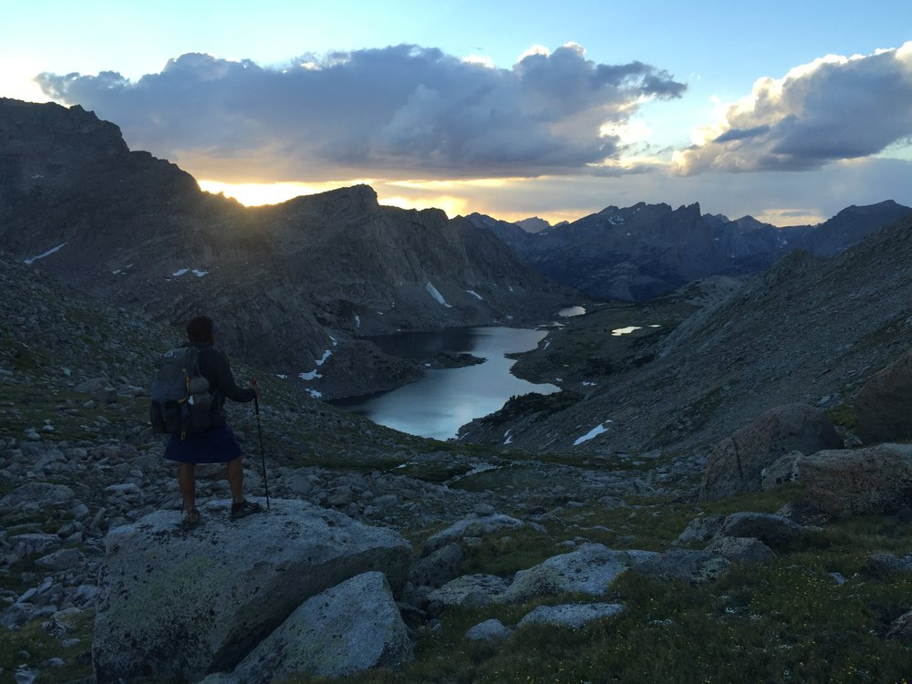 "Backpacker Whitney ""Allgood"" LaRuffa dehydrated his meals for a hike of the Continental Divide Trail (seen here).   Photo courtesy Whitney LaRuffa."