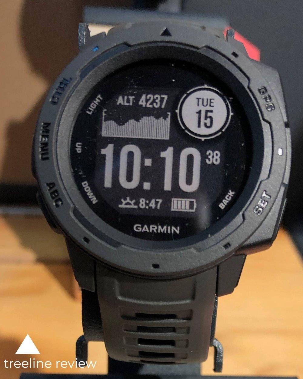 The Best altimeter Watch - Garmin InstinctRead why→