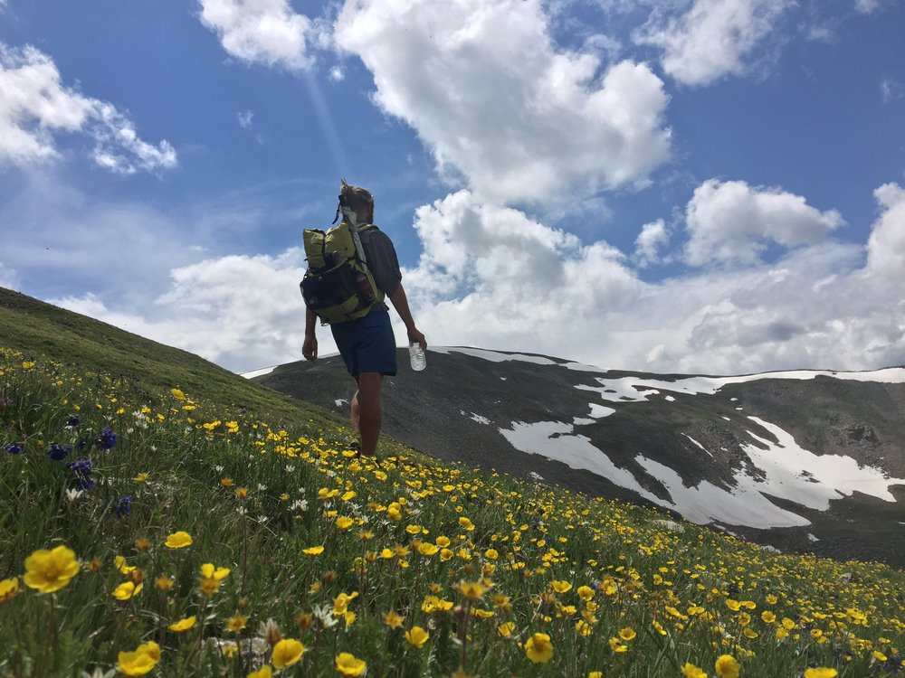 Fine-tuning your backpack can make the journey as pleasant as a trip through a meadow filled with wildflowers.  Photo by John Carr.