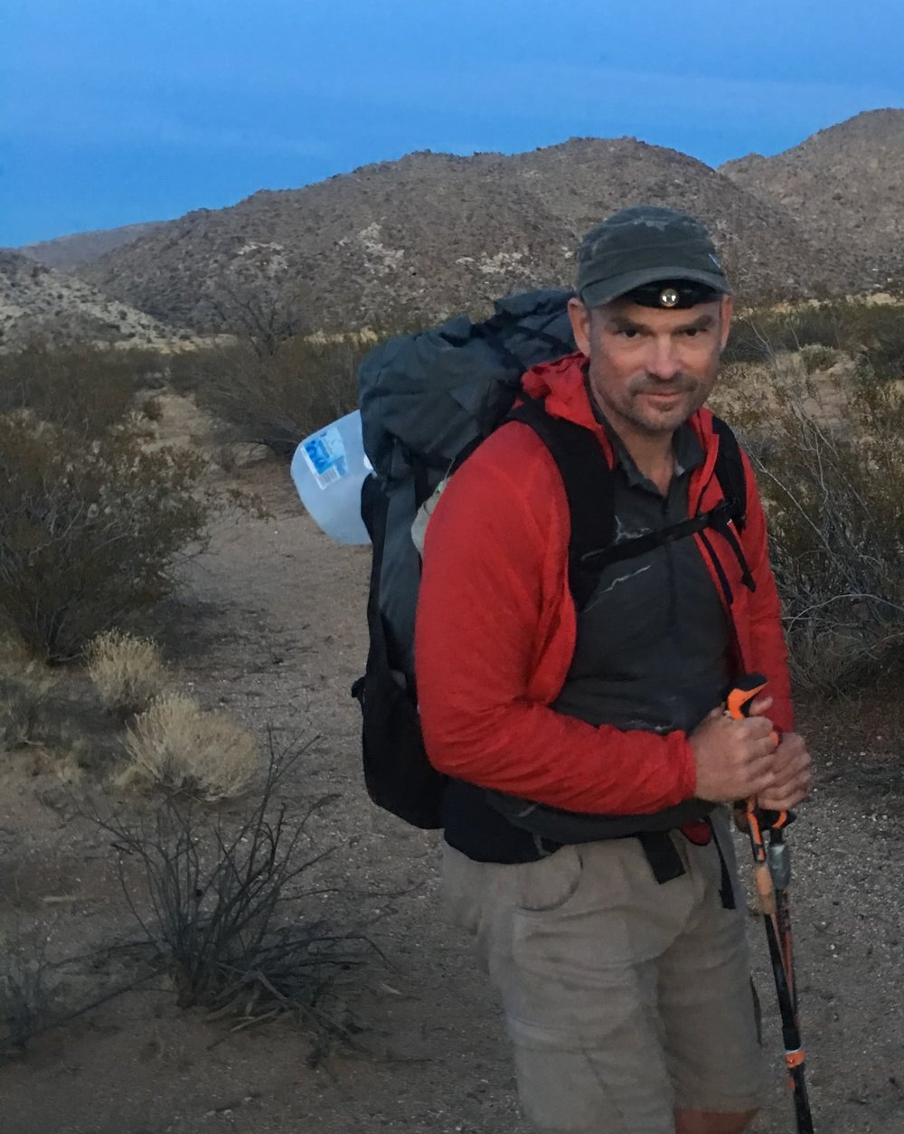 The author with his Katabatic Onni V40 65 pack.