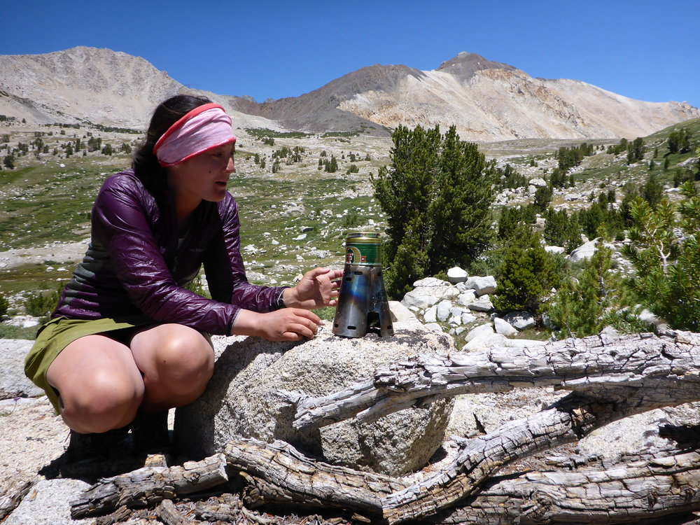The author and your trail guide for this story, Katie Hearsum.   Photo courtesy Katie Hearsum.
