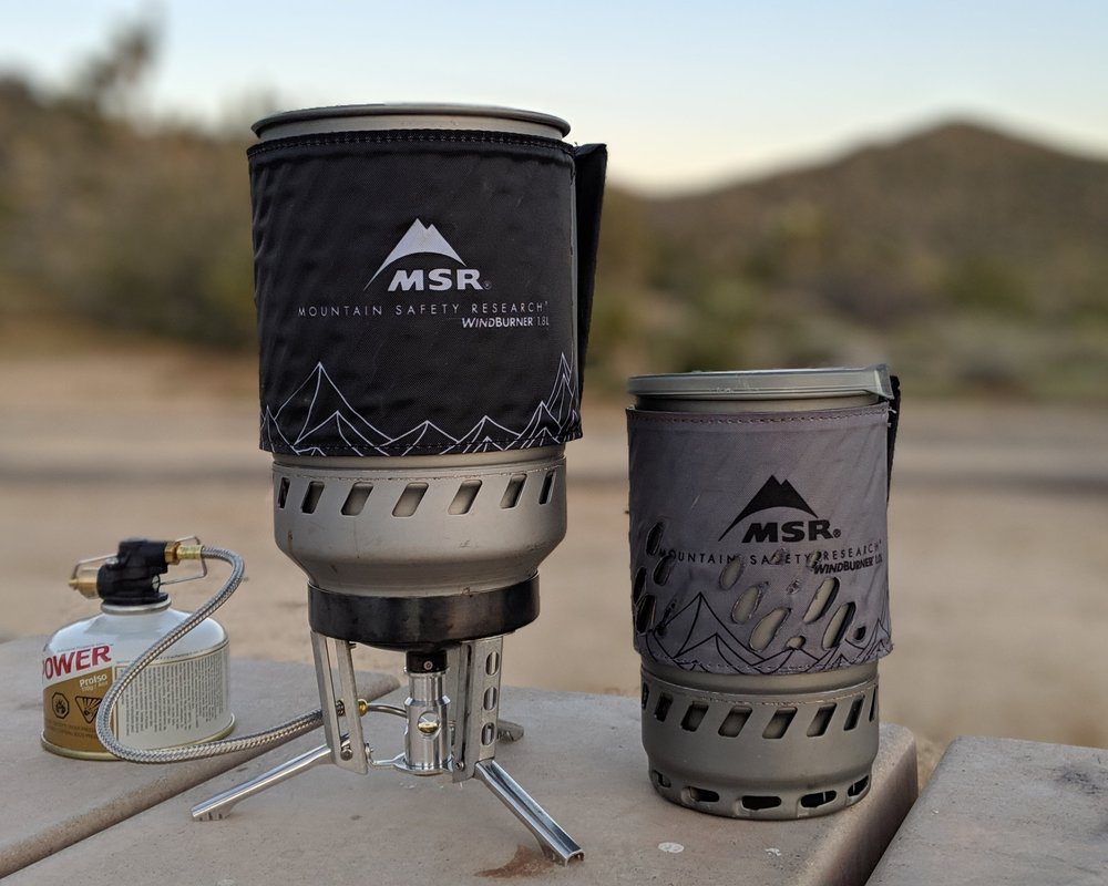 The Best Backpacking Stove for Groups - MSR Windburner 1.8 LRead why→