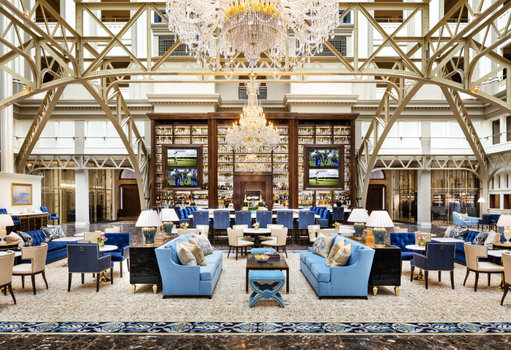 Inside Trump International Hotel in Washington, D.C., home of Benjamin's Bar and many conflicts of interest.