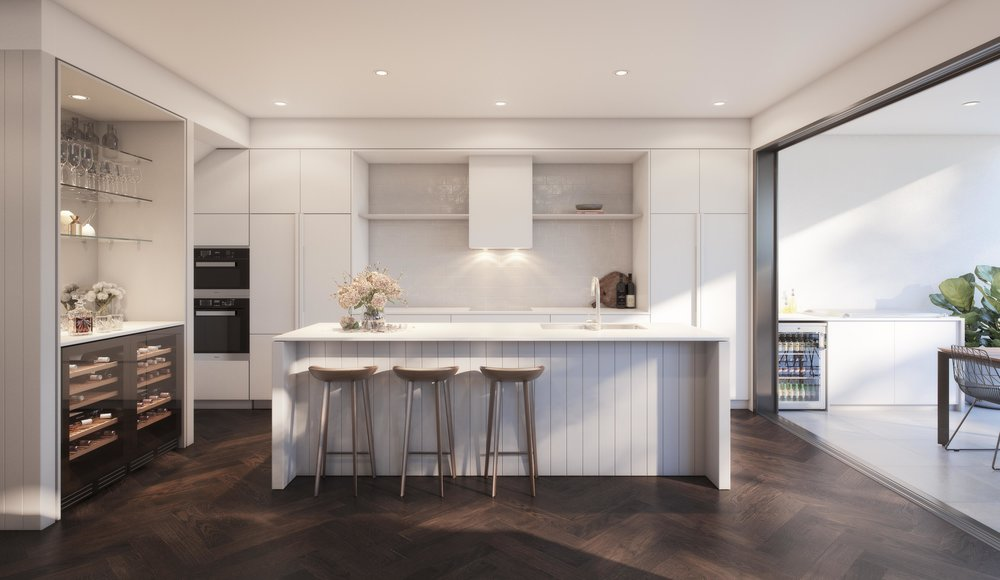 Jardin Residences - Kitchen