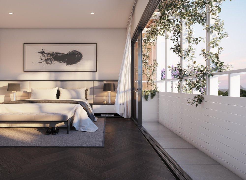 Jardin Residences - Master Bedroom
