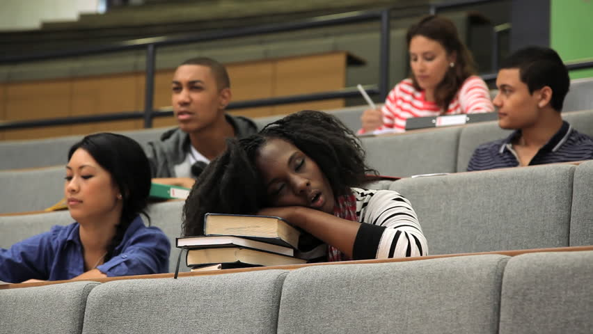 black girl sleeping