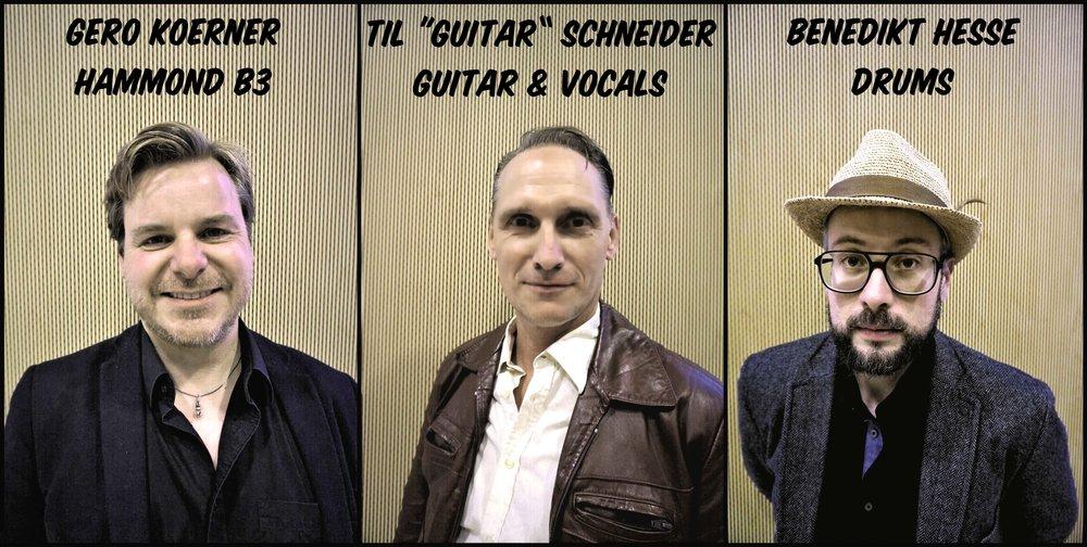 Eine funky Blues Gitarre gepaart mit dem old-school Sound eines typischen Organ Trios der 60er Jahre. Das ist der king-sized Sound dieser neuen Kölner Band. Und das bedeutet jede Menge Rhythm´n´Blues. groove-orientierten Soul-Jazz und Funk.