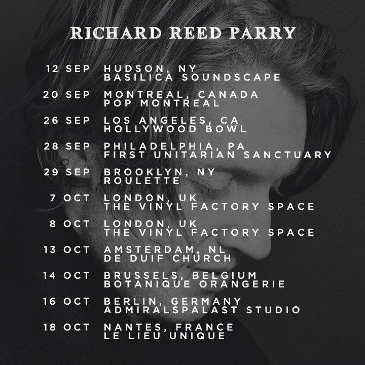 Live - Sept/Oct 2014   http://www.facebook.com/  richardrparry/events