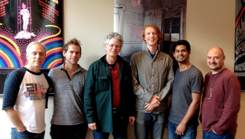 The mighty Kronos Quartet! And Bryce again. (Bryce produced the record with me thank goodness).