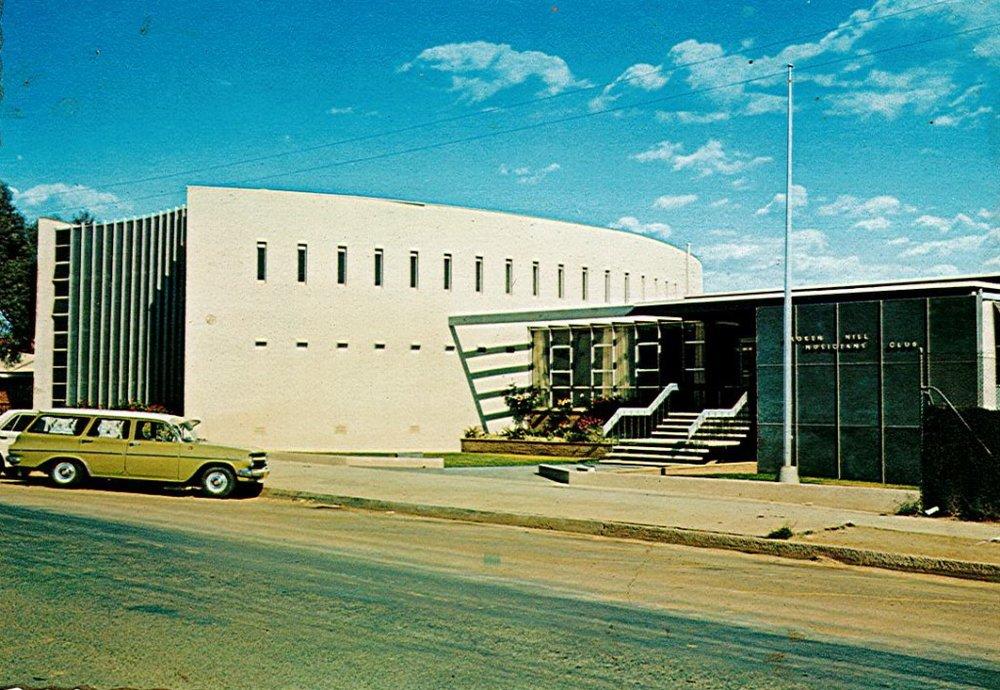 Broken Hill Musicians Club 1970