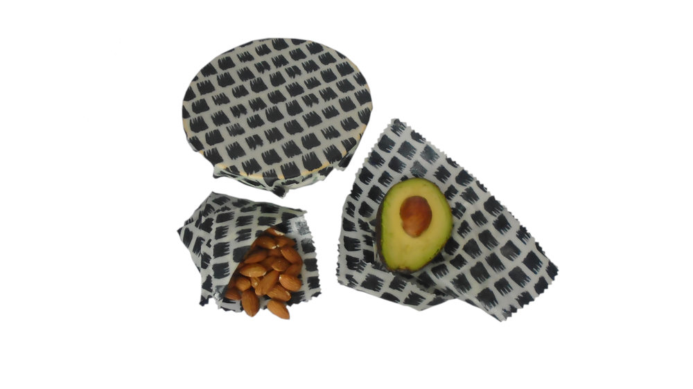 Beeswax Wraps - Ditch the plastic & discover the amazing versatility of our handmade Beeswax wraps for your food storage solutions