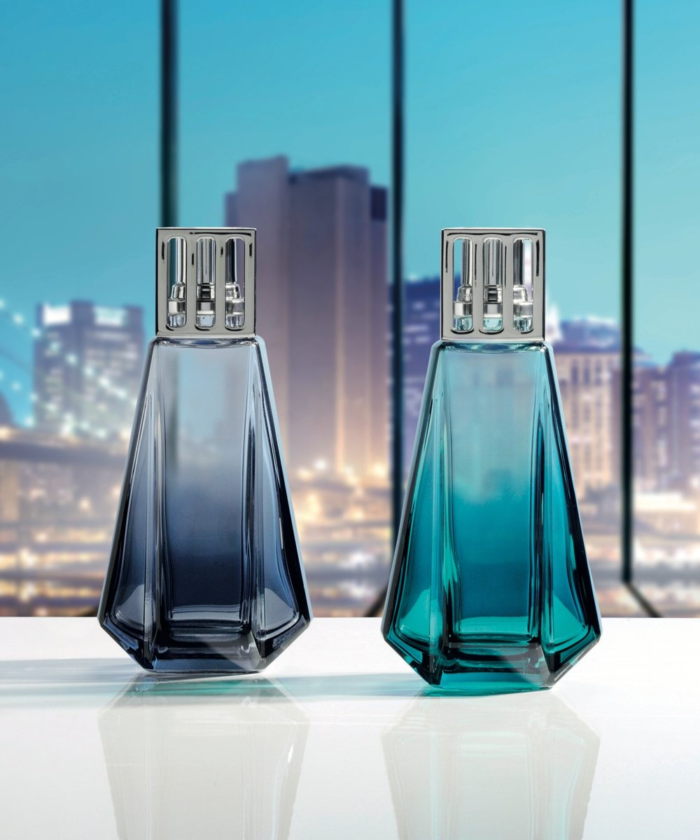 URBAN LAMPS - Blue / Turquoise