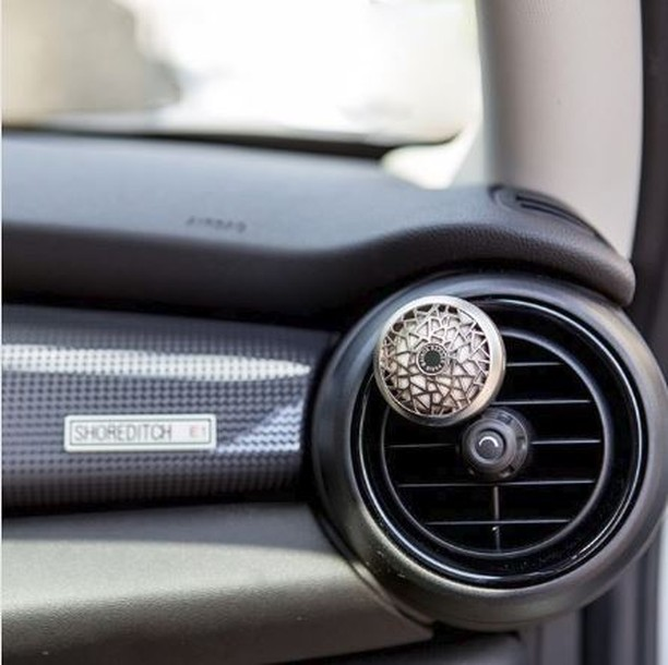 Easily recharge your car diffuser with any of our scented ceramic tablets. Available in 12 luxurious fragrances.  #scent #cardiffuser #MaisonBergerUSA #diffusers #madeinfrance #car #carlifestyle