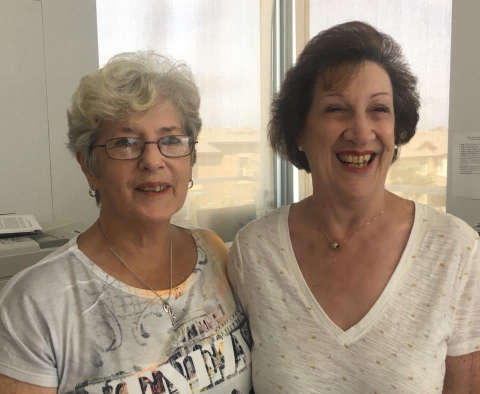 "PADC""s two International Examiners, Gillian Davis and PADC's RAD Director, Angela Watkin."