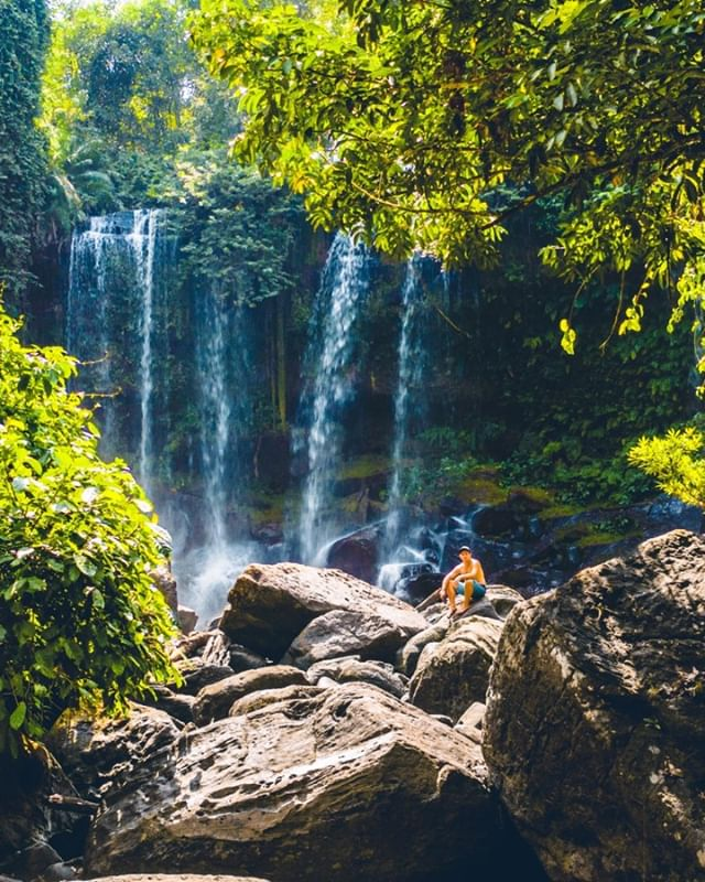 Episode 12 is up - Chasing Waterfalls in Cambodia. Absolute favorite city and one of the best days ever.  Check it out - Link in Bio!