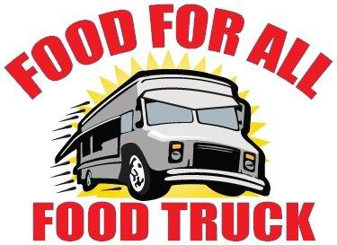 Dinner Menu Available - Don't worry about Dinner! Food For All Food Truck is a full-service food truck specializing in creating fabulous fresh food for special events and private parties. They will parked outside with lots of great dinner options available for purchase!