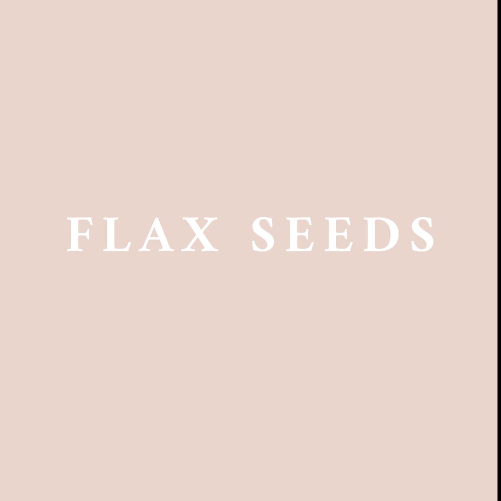 High in fiber and a source of Omega-3 fatty acids.