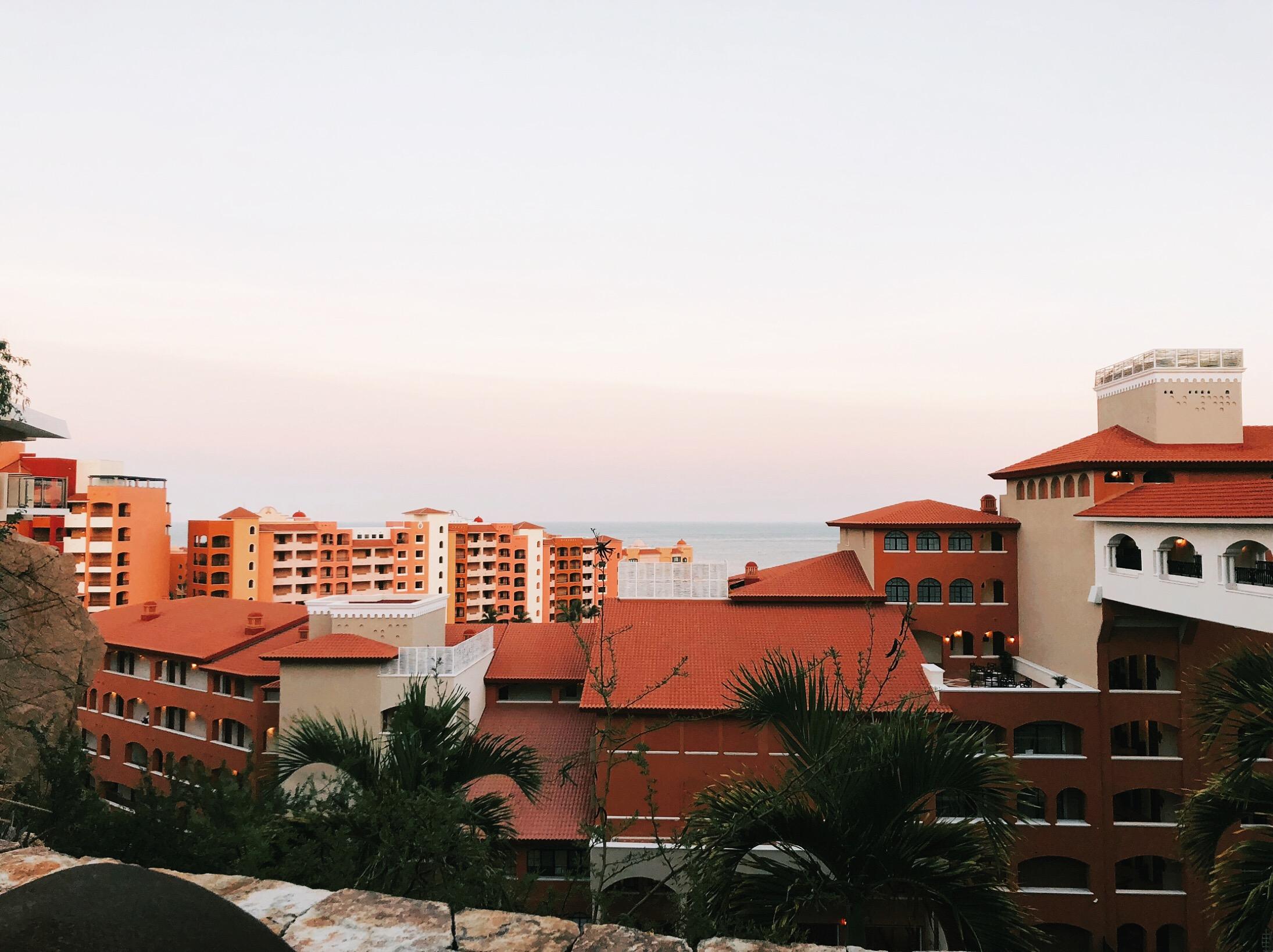 View of Cabo San Lucas Mexico.