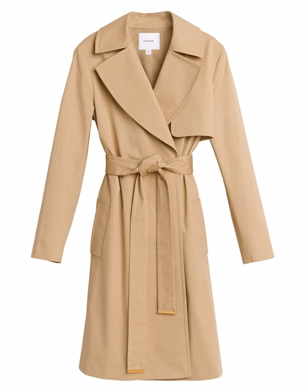 Classic Trench by Cuyana -