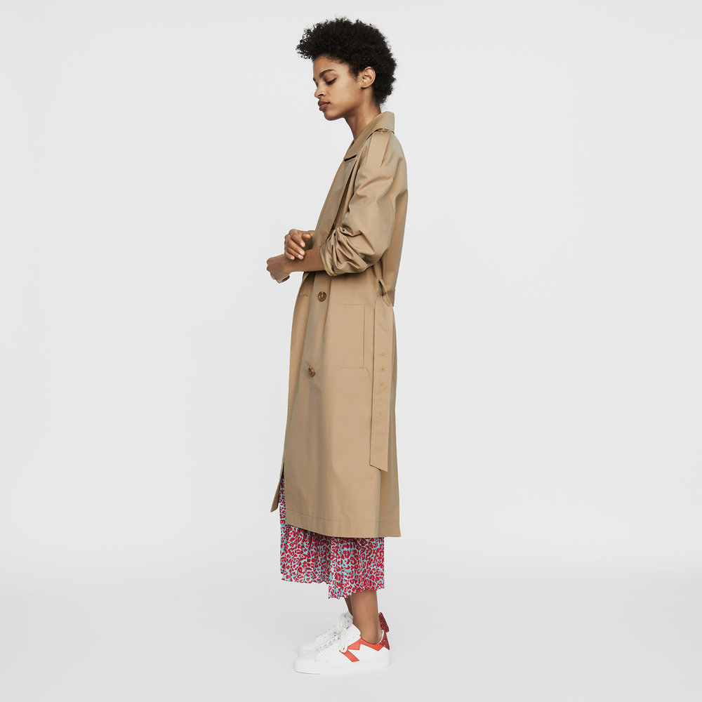 Toile Classic Trench by Maje -