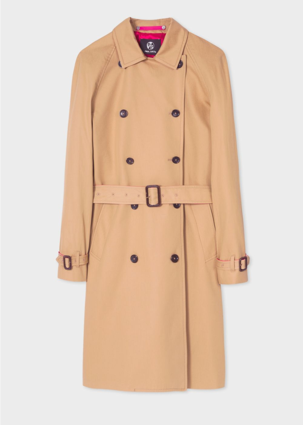 Camel Trench Coat by Paul Smith -