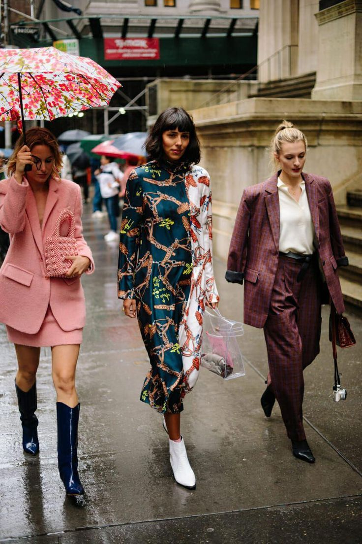 The Best Street Style Coming Out of New York Fashion Week #newyorkfashion.jpg